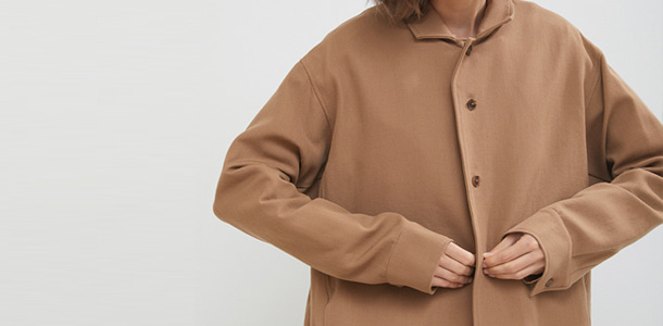 CAMEL BUTTON JACKET